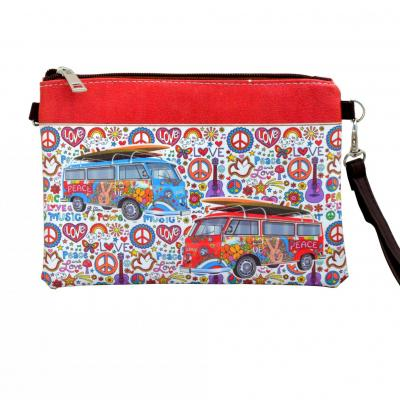Pochette à main peace & love